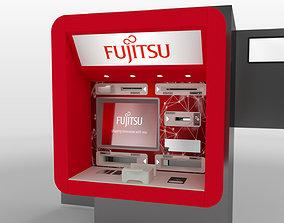 3D model cajero ATM Machine