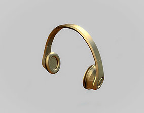 3D model game-ready sound Headphones