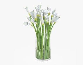 Callas flowers 03 3D
