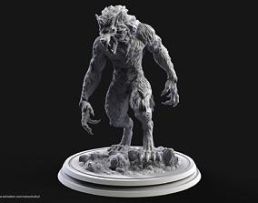 Werewolf 3D print model 3d