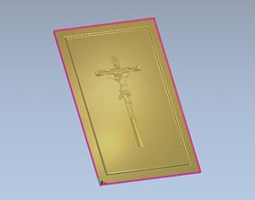 jesus printed door 3D printable model house