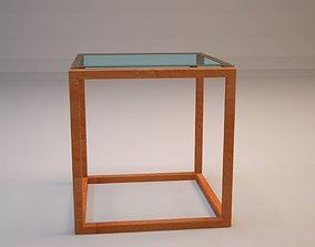 wood 3d Glass Tabe