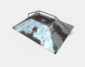 Skate Ramp PBR Textures 3D asset