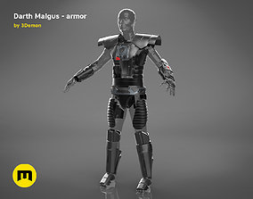 Darth Malgus armor - Star 3D printable model