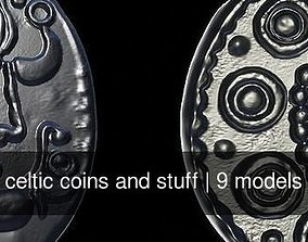 celtic coins and stuff 3D