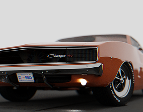 Dodge Charger 1969 charger 3D