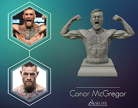 Conor McGregor 3D Sculpture Ready to 3D print body