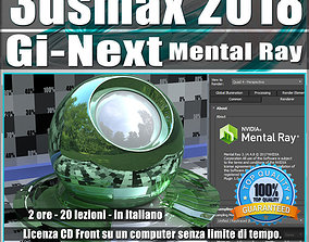 Mental Ray Gi Next in 3ds max 2018 Vol 9 cd