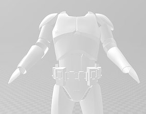 Star Wars Clone Trooper Phase 1 Phase 2 3D print model 2