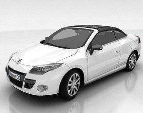 Renault Megane Coupe cabriolet 3D asset