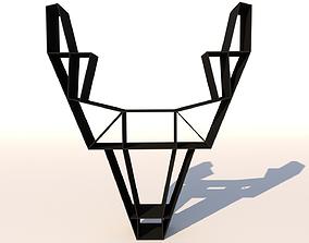 3D model Deer Shelf Unit