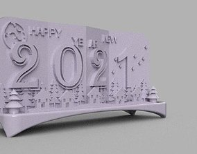 3D print model Christmas and New Year 2021