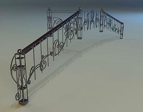 3D Forged railing