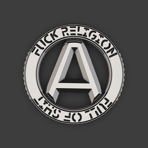 Atheist Punk pendant