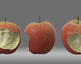 apple Apple bitten One 3D