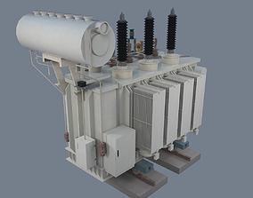 3D asset Electrical Transformer type 1