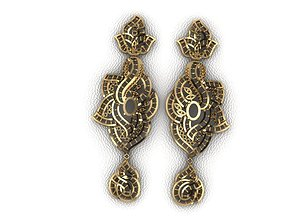 3D print model Earrings attachments