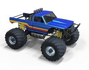 Monster truck 2 3D