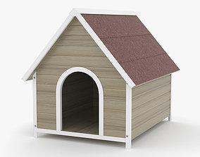 3D model Dog House puppy