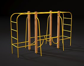 Sports complex 2 3D model