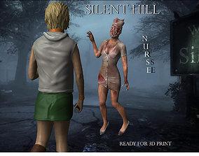 horror Silent hill Nurse 3D printable model