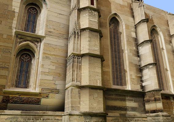 gothic church  IN ROMANIA 05