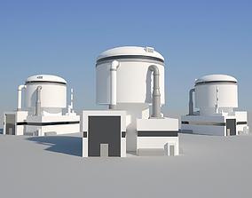 Industrial Building 07 3D model