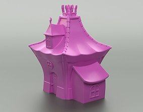 Cartoon Witch House 3D print model