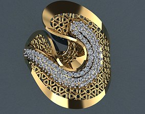 Ring 27 pendant-necklace 3D printable model