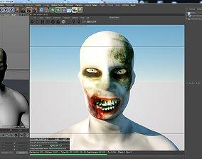 3D model Character zombie creature