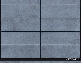 Keros City Azul 3D