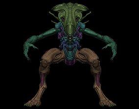 3D asset Mother Alien