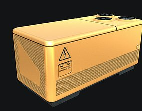 3D model Sci-fi Air Condition