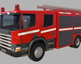 Firewagon 3D model
