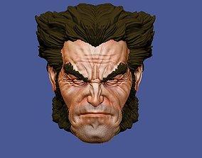CUSTOM Logan head 3D print model