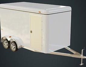 3D model Cargo Trailer 1