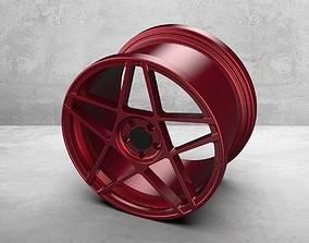 Car Rim Wheel 1 3D model