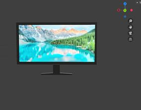lcd-monitor Smart TV 3d model