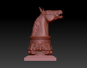 3D printable model Horse head figure