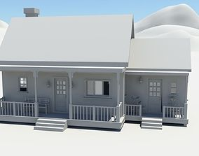 3D asset Farmhouse