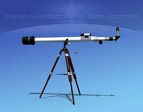 3D 6 In Refractor Telescope