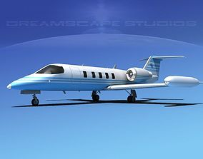 Gates Bombardier Learjet 35 V06 3D model