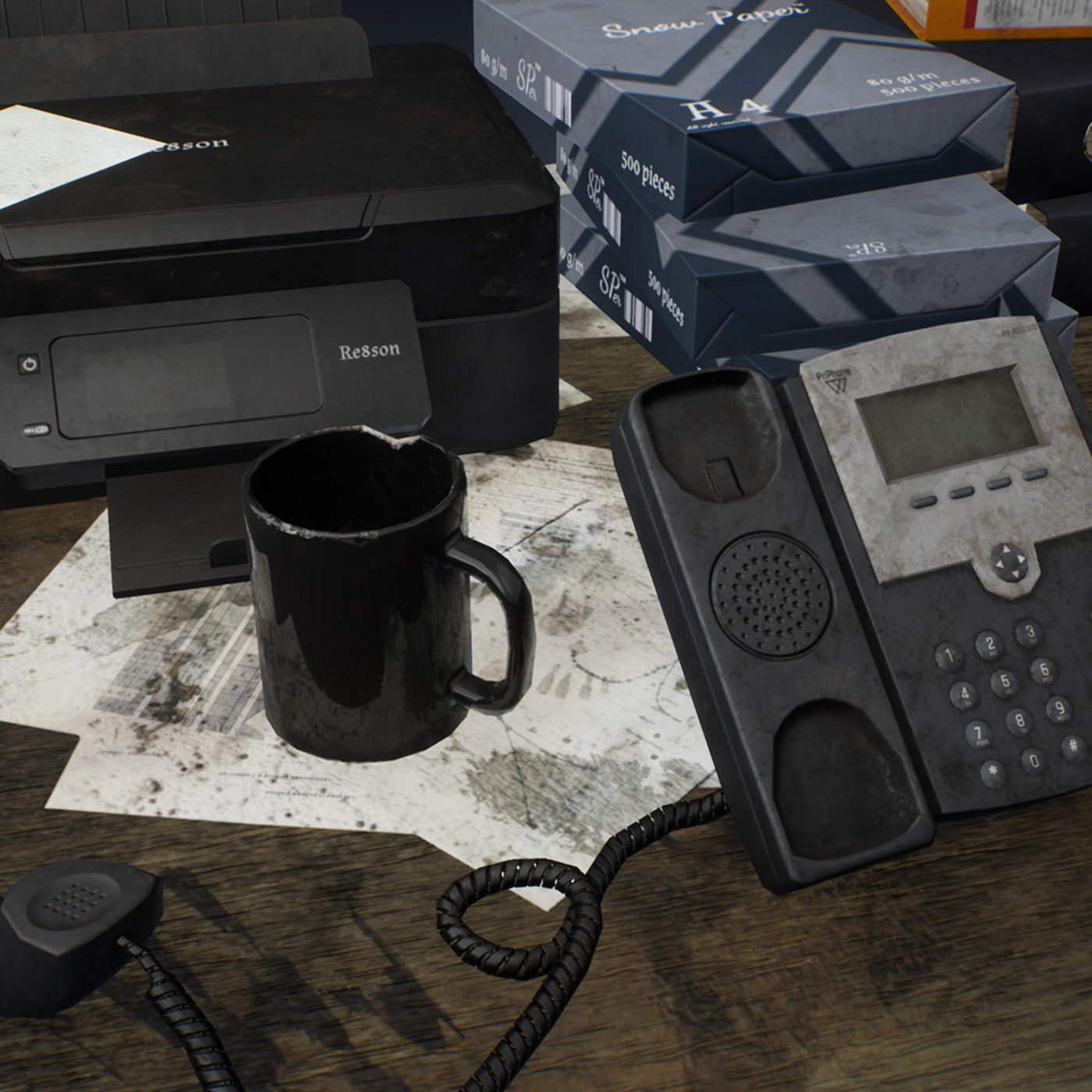 Dirty Office Accessories