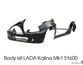 3D model Body kit LADA Kalina Mk1 S1600