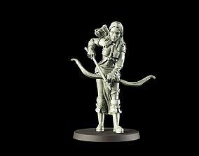 3D print model elf archer