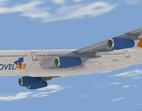 Airbus 340 3D model