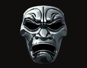 movie 3D printable model Immortal Warrior Mask - 300