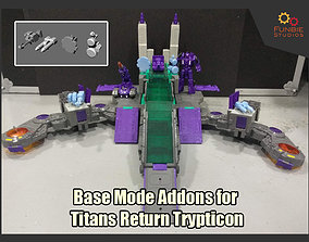 3D print model Base Mode Addons for Titans Return