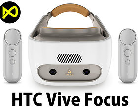 HTC Vive Focus White Set 3D model