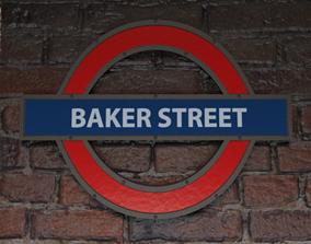 3D London underground station - Baker Street